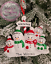 Personalised-Christmas-Tree-Xmas-Hanging-Ornament-Decoration-Bauble-Family-Gift thumbnail 2