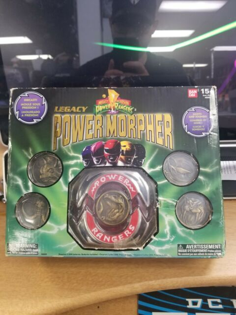 Mighty Morphin Power Rangers :  Legacy *Power Morpher* 2017 BANDAI *Complete*