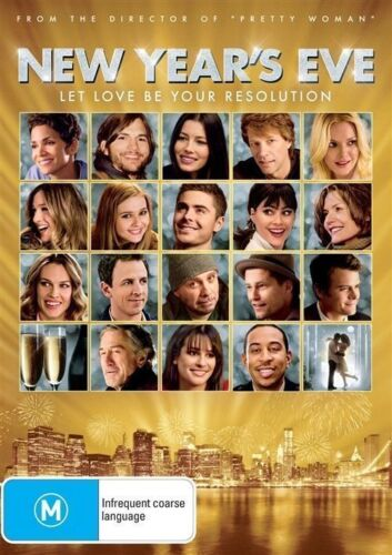 """1 of 1 - New Year's Eve DVD ROMANTIC COMEDY From Director Of """"Pretty Woman"""" BRAND NEW R4"""