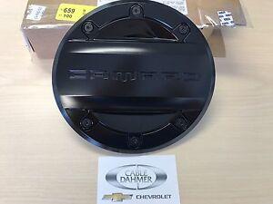 Cable Dahmer Chevrolet >> 2016 - 2019 Chevrolet Camaro Genuine GM Fuel Door Black 23506590 635650609794 | eBay