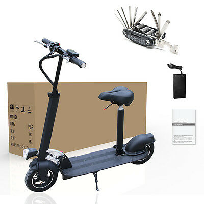 AGDA White Safe Premium and Reliable Electric Scooter With Black Suitable Seat