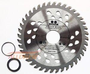 Pack-de-2-115-mm-Lame-de-scie-pour-bois-et-plastique-4-5-034-scie-circulaire-40-TCT