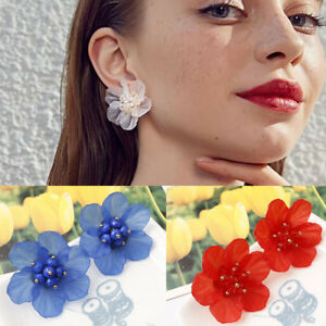 Women-Petals-Crystal-Fashion-Stud-Earrings-Big-Camellia-Flower-Elegant-Ear-Stud