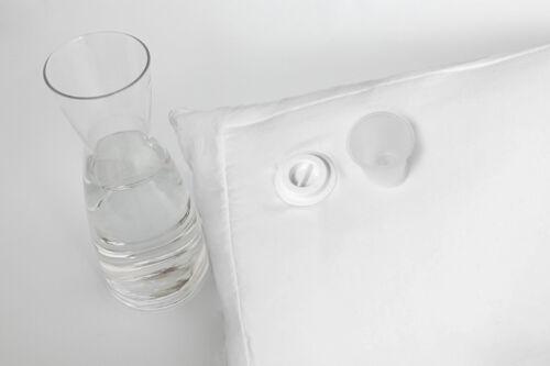L/'eau Coussin Oreiller 40x80 cm D/'Eau Oreiller Stützkissen coussin de nuque Chaleur