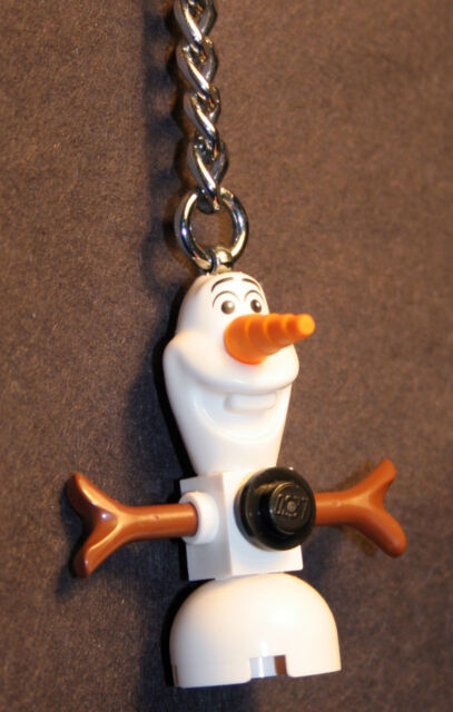 Lego Disney Princess Olaf Snowman KEY RING/CHAIN from 41062  New and Genuine