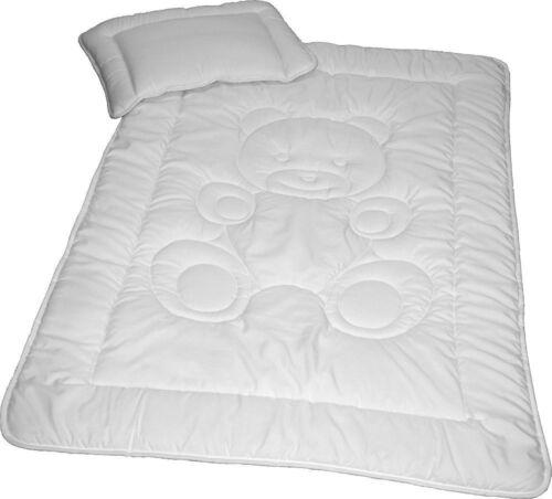 Kinder Bettenset Microfaser Bettdecke 100x135cm und Kopfkissen 40x60cm