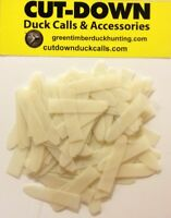 Kirk Mccullough-(50) 14 Mylar Reeds Fits Olt Style Cut-down Duck Calls.