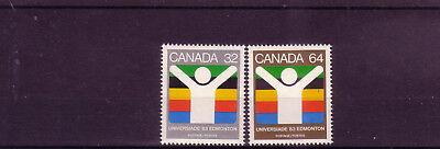 Supplement Die Vitalenergie Und NäHren Yin übersee:9871 Kanada Michelnummer 875-876 Postfrisch
