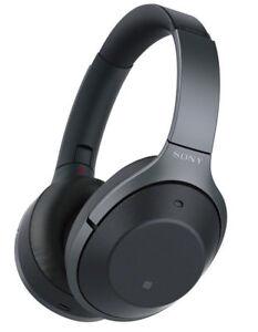 Sony 1000X Ear-Cup Wireless Headphones - Black
