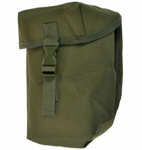 Mil-Tec-Tactical-British-Army-Style-Canteen-Pouch-MOLLE-Webbing-Olive-OD