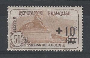 FRANCOBOLLI-1922-FRANCIA-PRO-ORFANI-C-10-SU-50-50-MLH-Z-4100