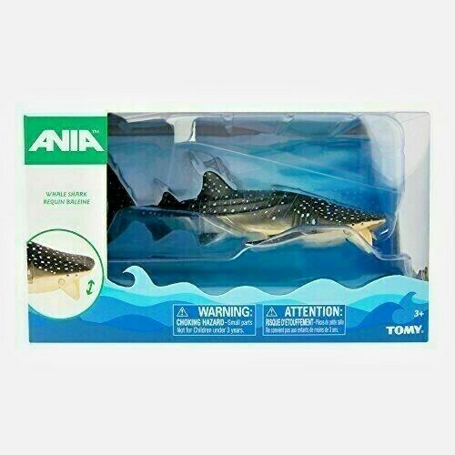 Ania WHALE SHARK Animal Figure TOMY T16067.