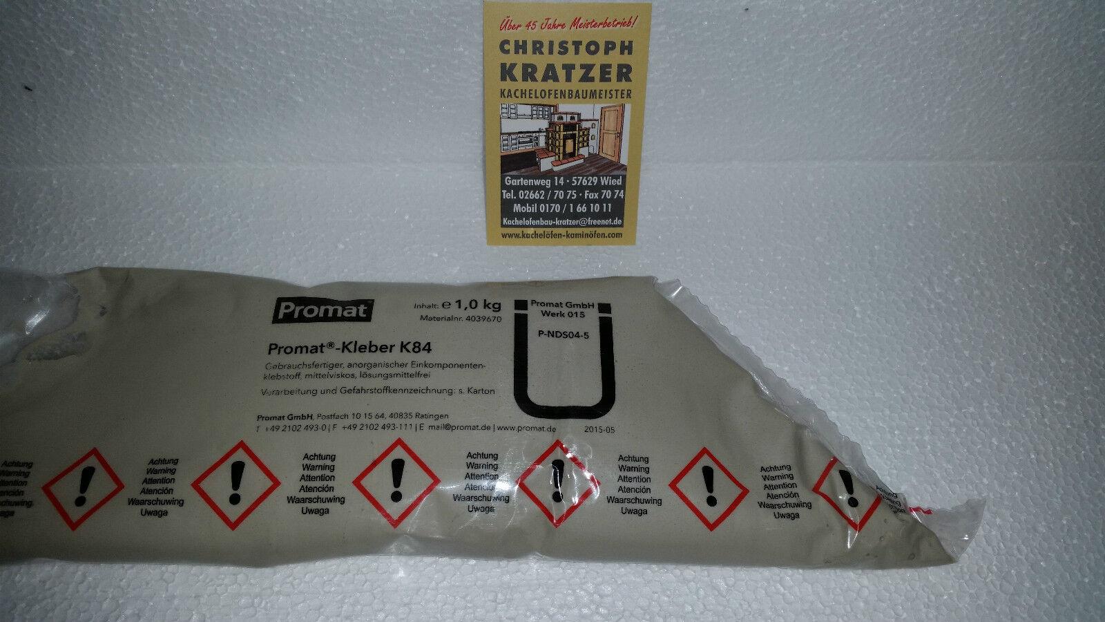 Promat Promasil Branschutz Thermo Kleber  1 kg Schlauch
