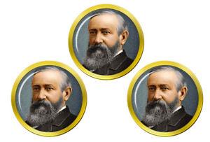 President-Benjamin-Harrison-Marqueurs-de-Balles-de-Golf