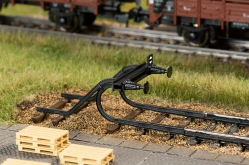Auhagen 41664 Prellbock  geschwungen 2 Stück Bausatz HO NEU