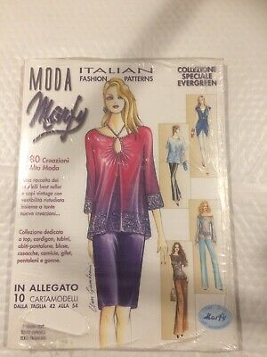Moda Marfy Italian Fashion Design 1966 2016 50th Anniversary Issue Ebay