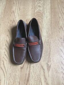 Klein Brown 8 Size Loafers Calvin dwEzt4xq