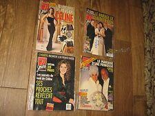 4 Pc Celine Dion Le Marriage D'une Princesse Claudette La Garde Robe Ses Proches