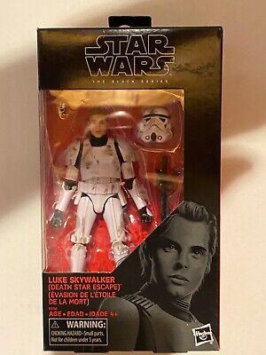 """Buy 2 for Sealed Case Star Wars Black Series 6/"""" Luke Skywalker with Landspeeder"""