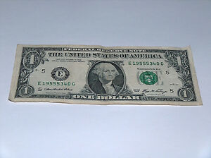 2006 1 bill us note date year set 5s 1955 19555340 fancy money