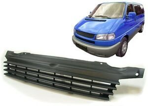 Details about FRONT BLACK GRILL FOR VW BUS CARAVELLE MULTIVAN T4 96-03  SPOILER BODY KIT NEW