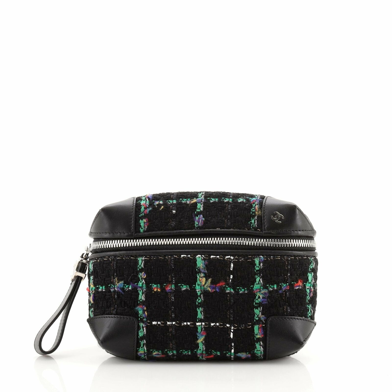 Chanel Street Allure Waist Bag Quilted Tweed - image 1