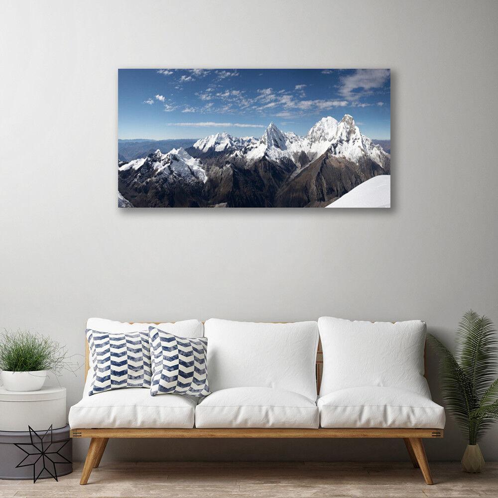 Canvas print print print Wall art on 100x50 Image Picture Mountains Landscape c47d89