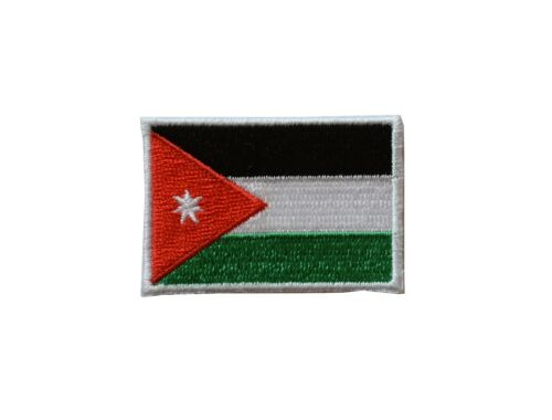 """#5124 Jordan Flag Embroidery Iron On Patch-Small 1 7//8/"""""""