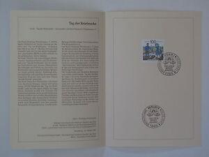 (91j42) Bund Erinnerungsblatt 1991 mit ESST Mi.Nr.  1570 Tag der Briefmarke