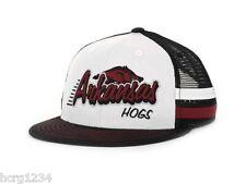 TOW SUPRA STRIPE NCAA SNAPBACK  HAT/CAP - ARKANSAS RAZORBACKS - OSFM
