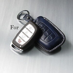 Image Is Loading Handmade Italy Leather Smart Car Remote Key Case