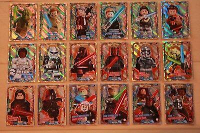 LE20 Choisir//Choisir Lego Star Wars Série 2 Limitée Cartes LE1