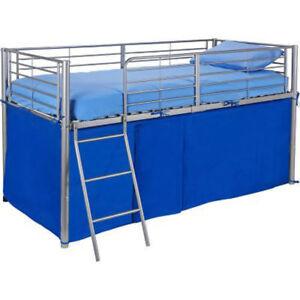 blau zelten f r mid bett bett jungen schlafzimmer spielzeug aufbewahrungs neu ebay. Black Bedroom Furniture Sets. Home Design Ideas
