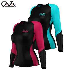 Womens-Compression-Shirt-Long-Sleeve-Base-Layer-Running-Gym-Training-women-Top