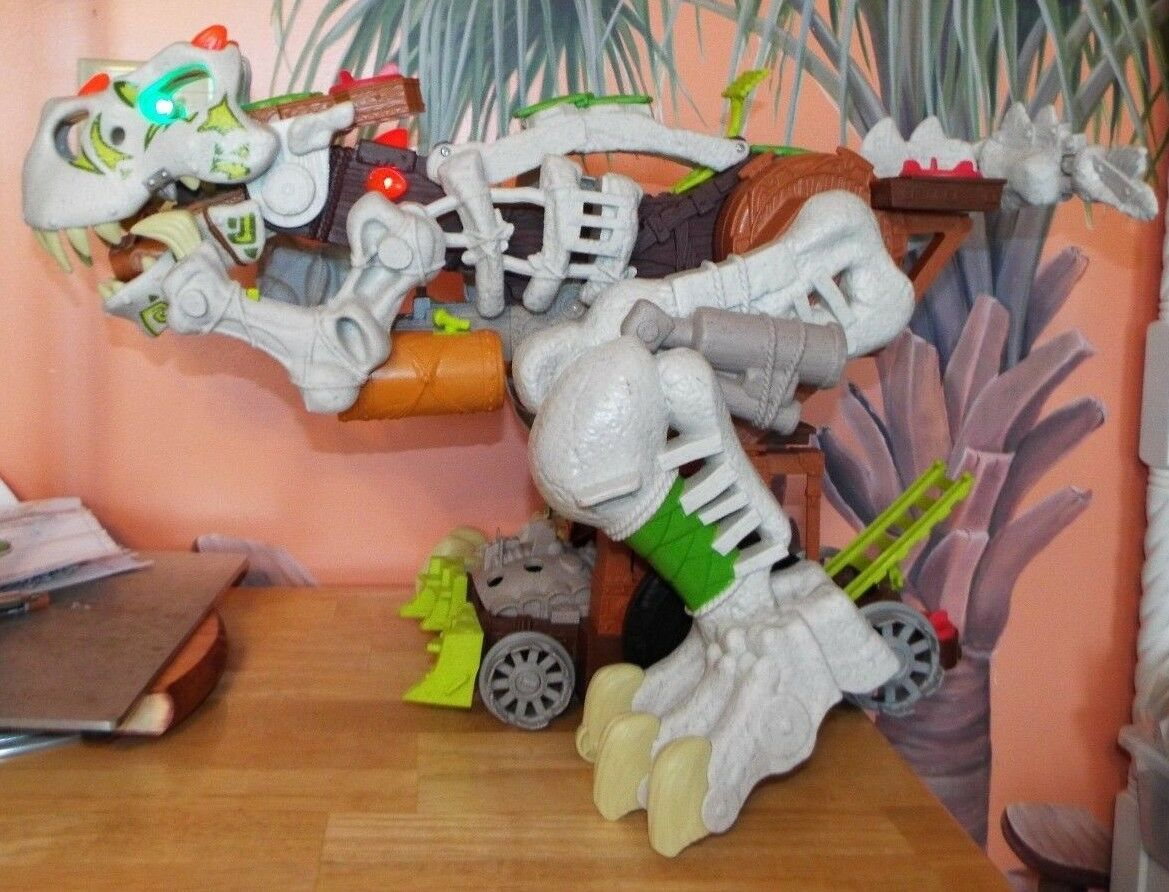 FISHER-PRICE IMAGINEXT ULTRA T-REX DINOSAUR TOY W LIGHTS, SOUND SOUND SOUND EFFECTS 2015 10c272