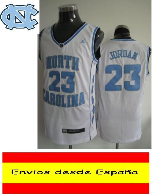 CAMISETA NBA RETRO RETRO RETRO  NORTH CAROLINA BLANCA  JORDAN  N.23  TALLA (S) 039085