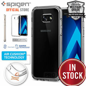 pretty nice aa9d7 c3793 Details about Galaxy A5 2017 Case, Genuine SPIGEN Ultra Hybrid Bumper HARD  Cover for Samsung