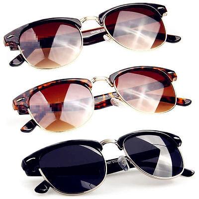 Fashion Retro Vintage Womens Mens Designer Oversized Sunglasses Glasses