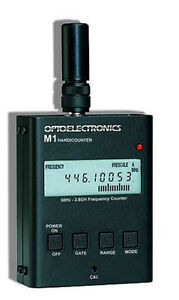 OPTOELECTRONICS-M1-FREQUENCY-COUNTER-50HZ-2-8GHZ-NEW