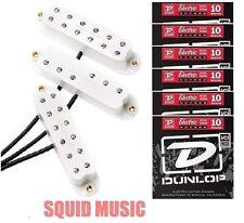 Seymour Duncan Everything Axe JB Jr Duckbucker Little 59 White FENDER CABLE