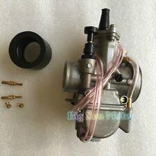 KOSO PWK 26 Power Jet Carburetor Flat Silde For ATV Quad Pit Dirt Bike Carb 26MM