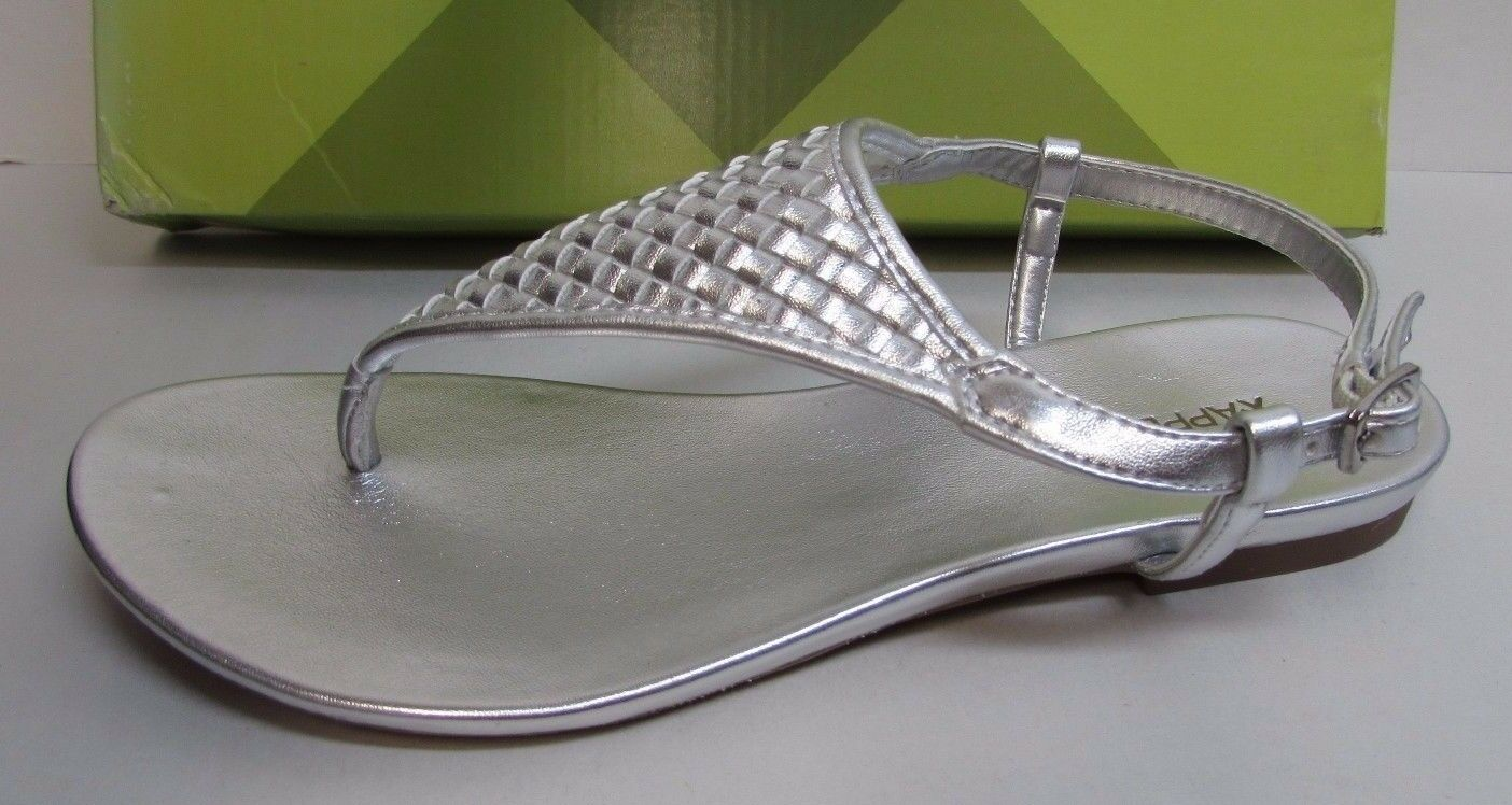Xappeal Size 7  Silver Sandals New Womens shoes