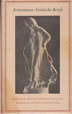 Aristainetos: Erotische Briefe (mit 17 Bildtafeln)   1951