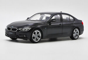 Welly-1-24-BMW-F30-335i-Black-Diecast-Model-Car-Vehicle-New-in-Box