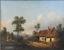 miniatuur 7 - Josef PFEIFFER Très Belle Huile Toile Paysage TYROL AUTRICHE 1862