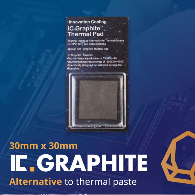Innovation Cooling Ic Graphite Thermal Pad Alternative To Paste 30x30mm For Sale Online Ebay