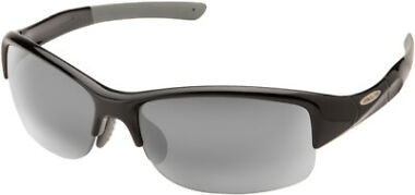 Suncloud Torque Polarized Black Semi-Rimless Sport Men's Sunglasses