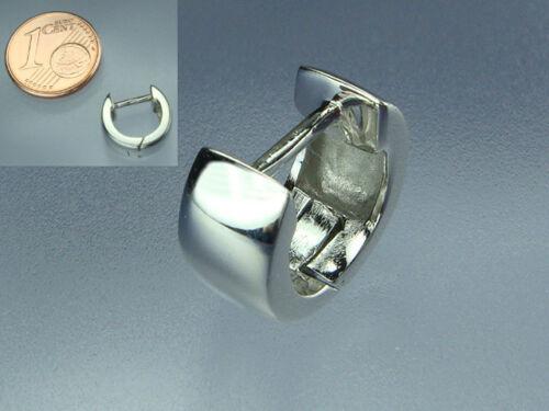 925 Silber Männer Herren Creole Breite 4,8 mm Durchmesser 10,5 mm rhodiniert NEU