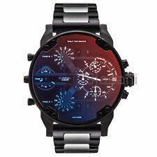Diesel Original Men's DZ7395 MR DADDY 2.0 Black IP Stainless Steel Strap Watch