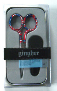 """Gingher FREEDOM Designer Series 4"""" Limited Edition Scissors"""